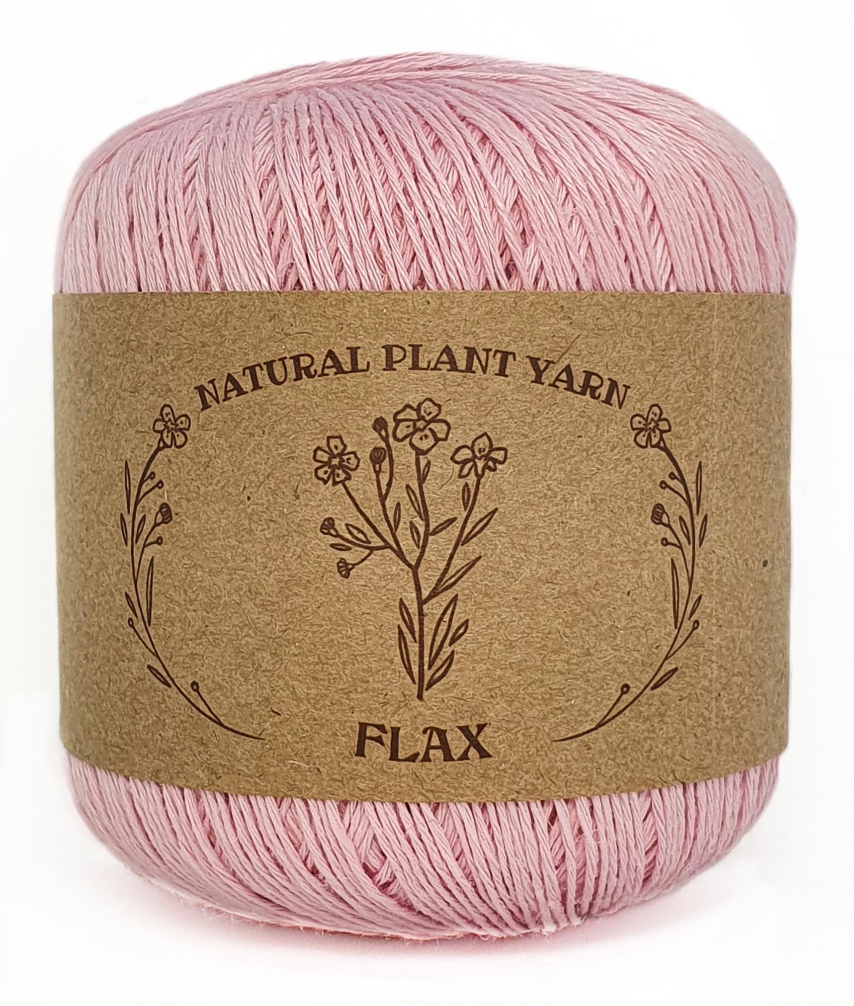 FLAX WOOL SEA  055 - светло-розовый