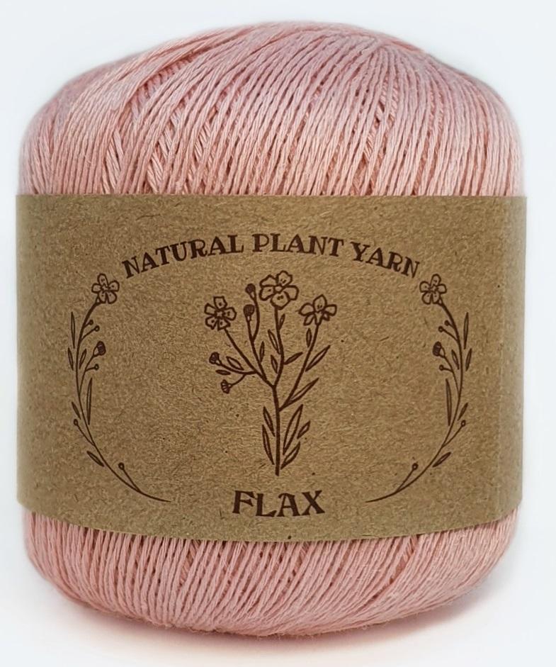 FLAX WOOL SEA  056 - розовый