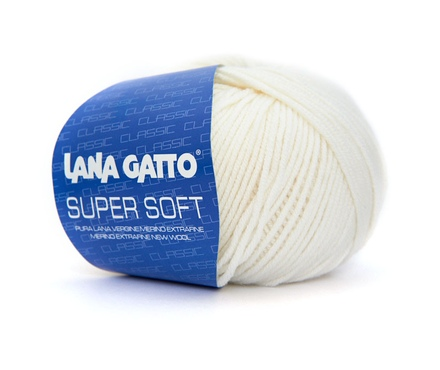Super Soft Lana Gatto ( Лана Гатто Супер Софт)  10001 - белый