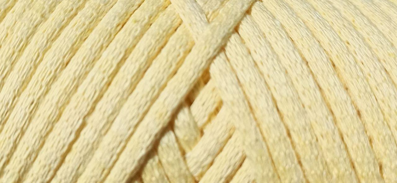 Maccaroni Cotton Filled 3 mm ( Маккарони Котон Фильд 3 мм) 22 - бледно жёлтый