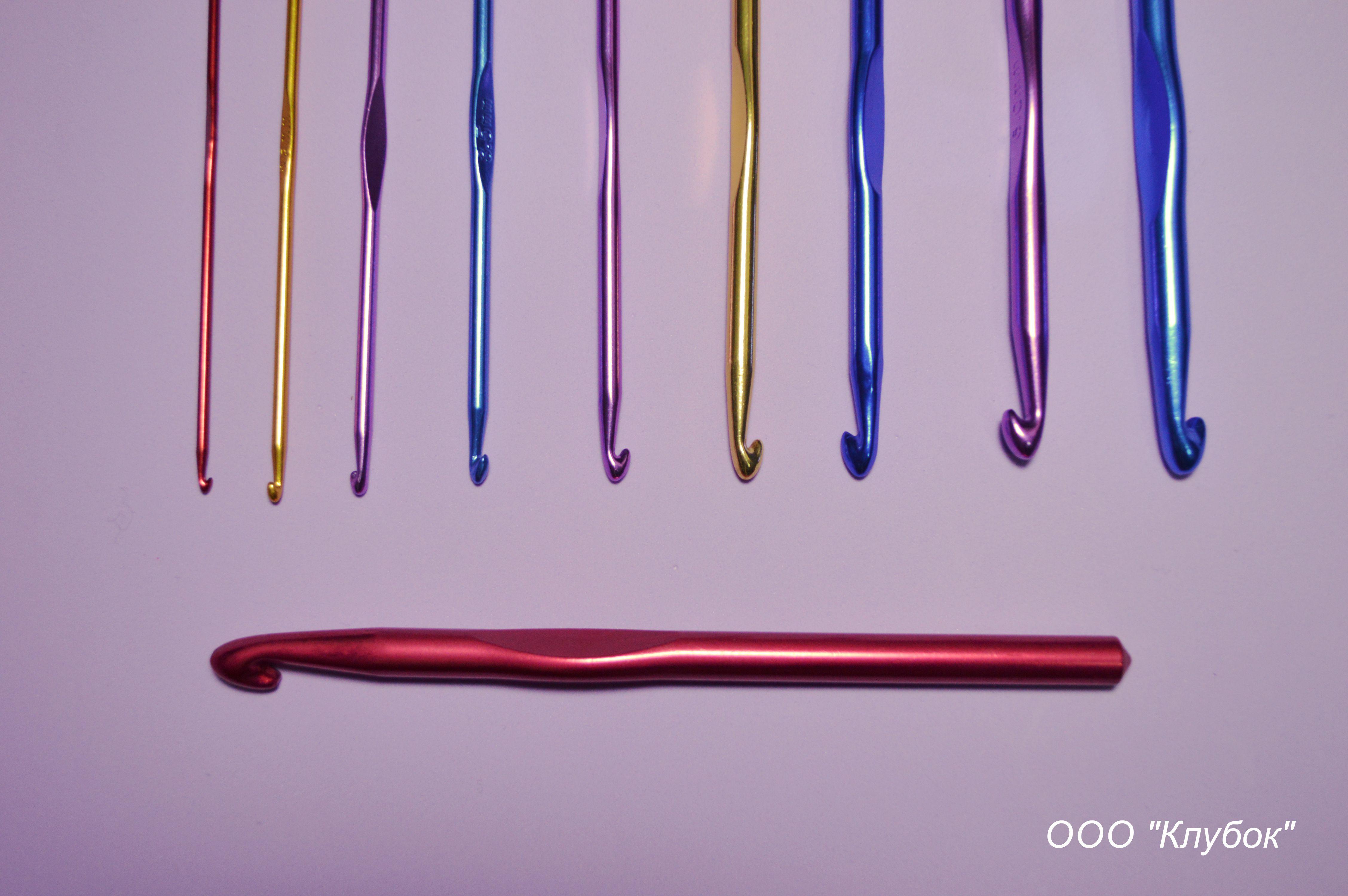 крючок металлический с цветным покрытием