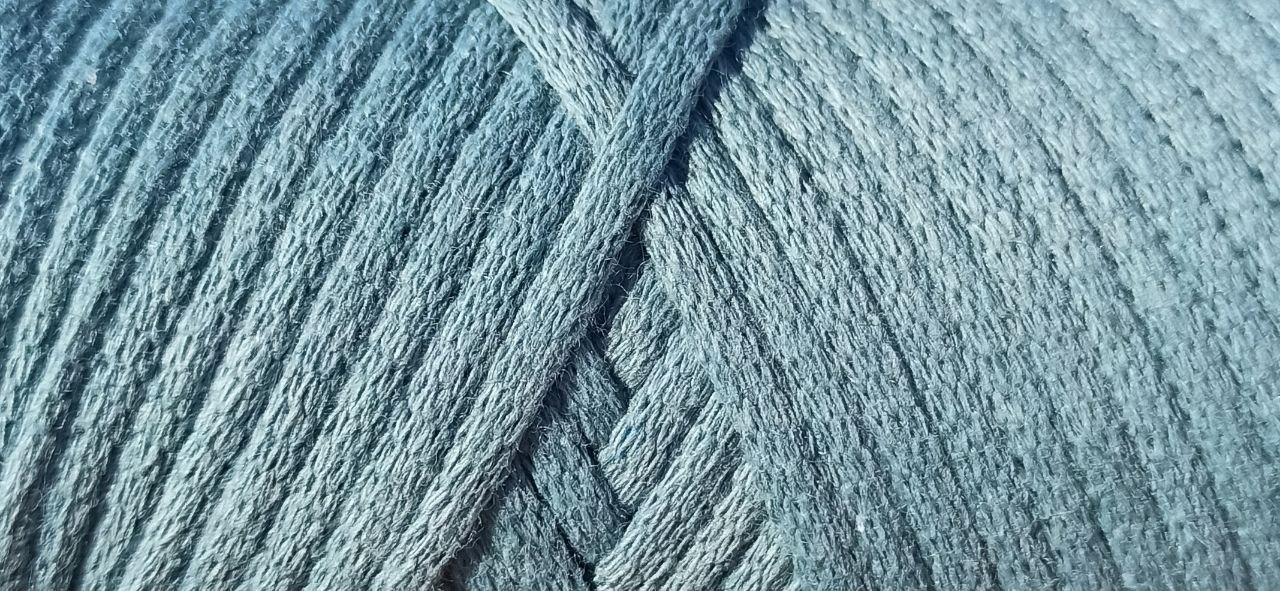 Maccaroni Cotton Filled 3 mm ( Маккарони Котон Фильд 3 мм) 33 - небесно голубой