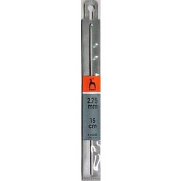 45204 PONY Крючок вязальный 2,75 мм 15см, алюминий (2) купить в Минске дешево
