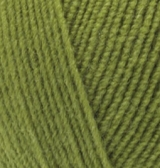 LANAGOLD FINE ALIZE (ЛАНАГОЛД ФАЙН АЛИЗЕ) 485 - зеленая черепаха