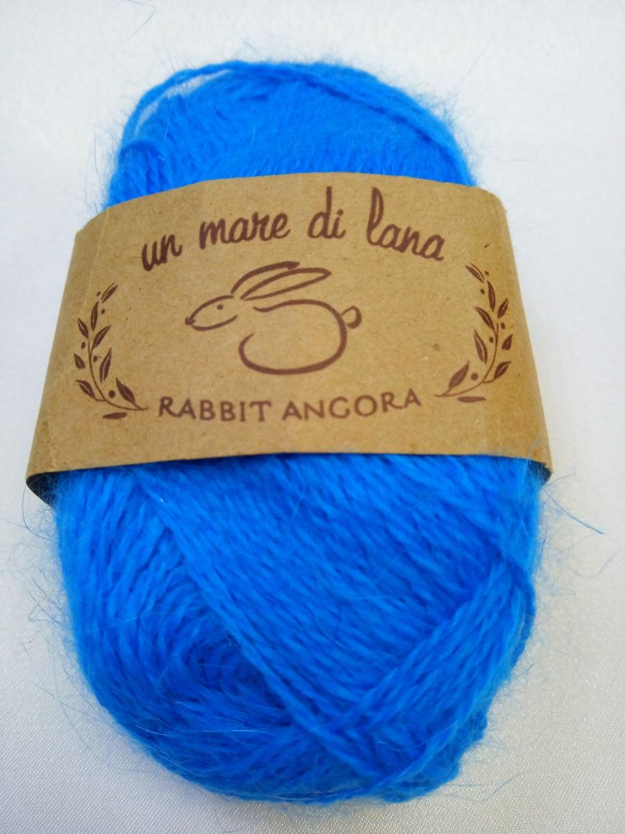 Wool Sea Rabbit Angora (вул сеа Ангора Кролик) 45 - т.бирюза