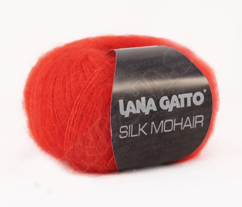 Silk Mohair Lana Gatto 6024 - красный
