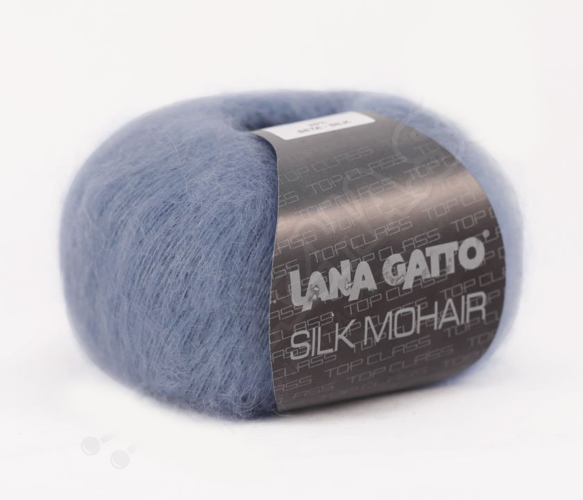 Silk Mohair Lana Gatto 6034 - джинс