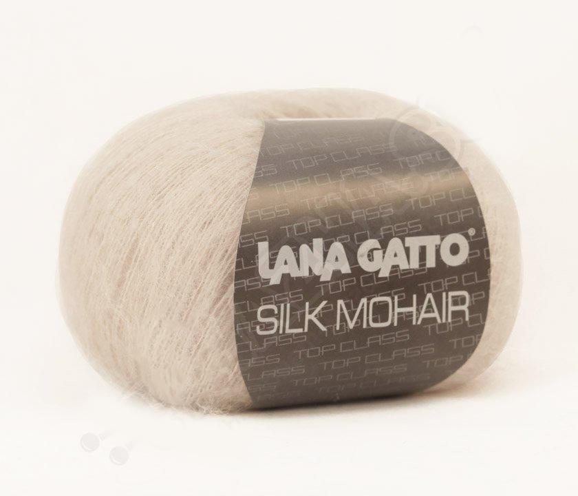 Silk Mohair Lana Gatto 6039 - светло-бежевый