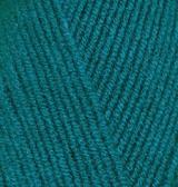 LANAGOLD FINE ALIZE (ЛАНАГОЛД ФАЙН АЛИЗЕ) 640 - павлиновая зелень