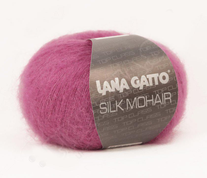 Silk Mohair Lana Gatto 7260 - фуксия