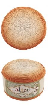 Bella ombre batik Alize (Белла омбре батик АЛИЗЕ) - 7403 апельсиновые дольки