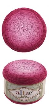 Bella ombre batik Alize (Белла омбре батик АЛИЗЕ) - 7405 ягодное омбре