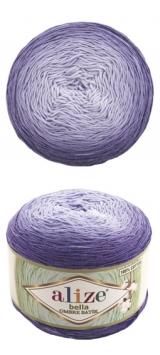 Bella ombre batik Alize (Белла омбре батик АЛИЗЕ) - 7406 фиолетовое омбре