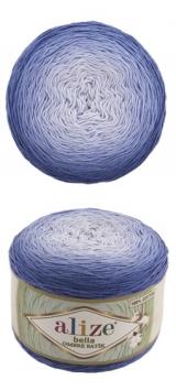 Bella ombre batik Alize (Белла омбре батик АЛИЗЕ) - 7407 синий омбре