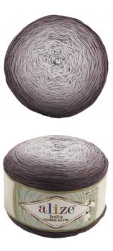 Bella ombre batik Alize (Белла омбре батик АЛИЗЕ) - 7411 шоколадное омбре