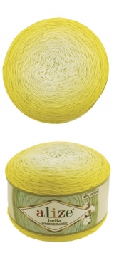 Bella ombre batik Alize (Белла омбре батик АЛИЗЕ) - 7417 лимонное омбре