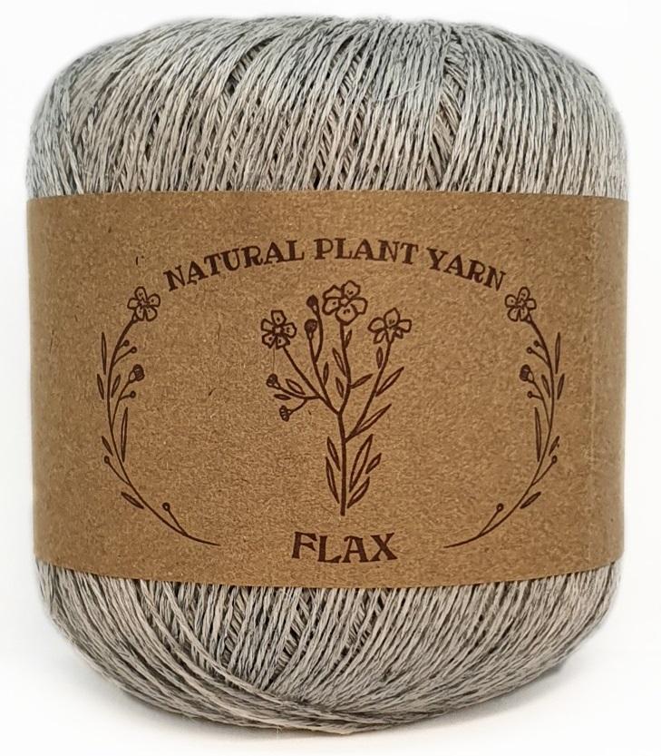 FLAX WOOL SEA 9999 - серый меланж