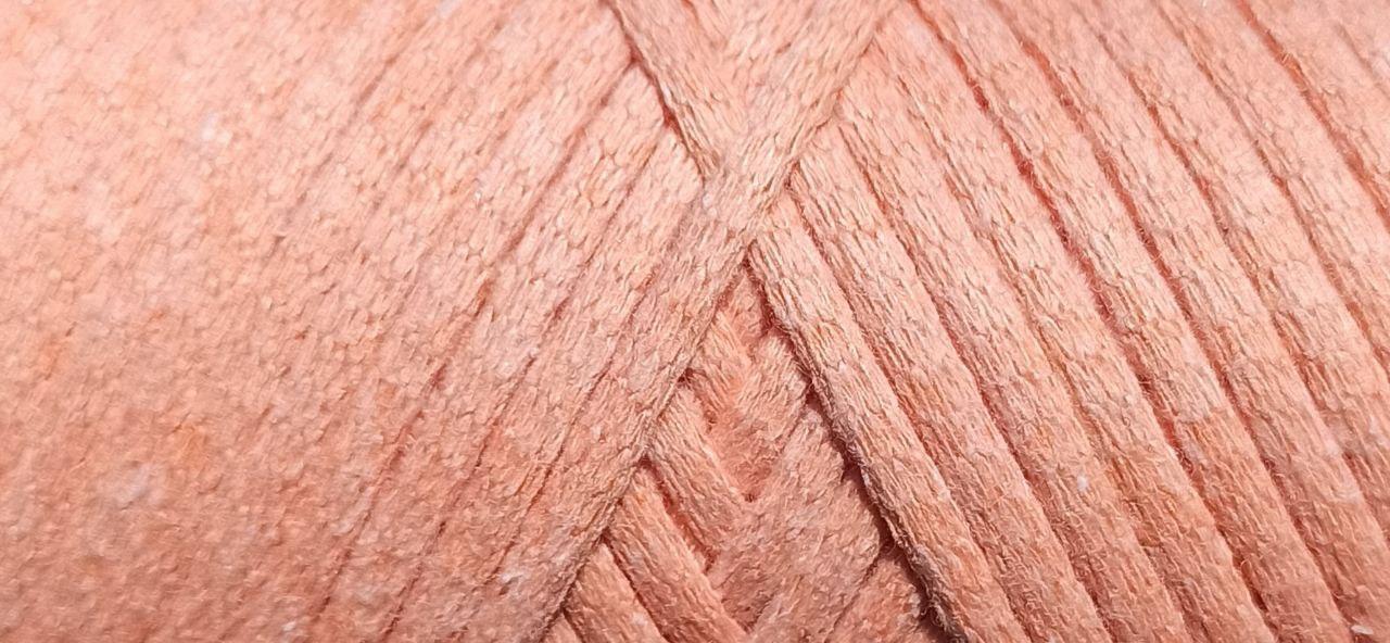 Maccaroni Cotton Filled 3 mm ( Маккарони Котон Фильд 3 мм) 38 - персик