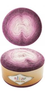 ALIZE ANGORA GOLD OMBRE BATIK (АЛИЗЕ АНГОРА ГОЛД ОМБРЕ БАТИК) 7244 - фиолетовый заказать со скидкой в Минске