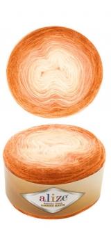 ALIZE ANGORA GOLD OMBRE BATIK (АЛИЗЕ АНГОРА ГОЛД ОМБРЕ БАТИК) 7296 - оранжевый купить в Минске