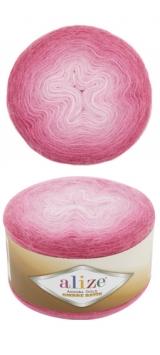 ALIZE ANGORA GOLD OMBRE BATIK (АЛИЗЕ АНГОРА ГОЛД ОМБРЕ БАТИК) 7357 - розовый заказать в Минске