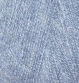 ALIZE ANGORA REAL 40 (АЛИЗЕ АНГОРА РЕАЛ 40) 221 - светлый джинс купить в Беларуси по низкой цене