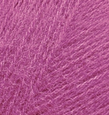 ALIZE ANGORA REAL 40 (АЛИЗЕ АНГОРА РЕАЛ 40) 46 - темно-розовый заказать в Минске