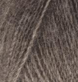 ALIZE ANGORA REAL 40 (АЛИЗЕ АНГОРА РЕАЛ 40) 553 - коричневый меланж заказать с доставкой по Минску