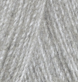 ALIZE ANGORA REAL 40 (АЛИЗЕ АНГОРА РЕАЛ 40) 614 - серый меланж заказать со скидкой в Минске