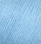 Alize Baby Wool   (Ализе Бэби Вул) 350 - светло-голубой купить в Минске
