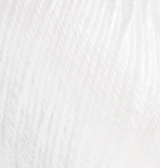 Alize Baby Wool   (Ализе Бэби Вул) 55 - белый купить в Минске