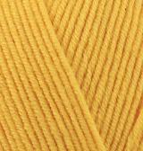 ALIZE COTTON GOLD (АЛИЗЕ КОТТОН ГОЛД) 216 - темно-желтый заказать со скидкой в Беларуси