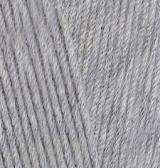 ALIZE COTTON GOLD (АЛИЗЕ КОТТОН ГОЛД) 21 - серый меланж купить с доставкой по Беларуси