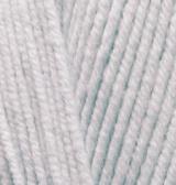 ALIZE COTTON GOLD FINE (АЛИЗЕ КОТТОН ГОЛД ФАЙН) 200 - светло-серый купить со скидкой в Минске