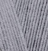 ALIZE COTTON GOLD FINE (АЛИЗЕ КОТТОН ГОЛД ФАЙН) 87 - угольный серый купить со скидкой в Беларуси
