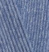 Alize Cotton Gold Hobby ( Ализе Коттон Голд Хобби) 374 - голубой меланж купить с доставкой по Минску