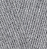 ALIZE LANAGOLD 800 (АЛИЗЕ ЛАНАГОЛД 800) 21 - серый меланж купить в Минске с хорошей скидкой