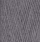 ALIZE LANAGOLD 800 (АЛИЗЕ ЛАНАГОЛД 800) 348 - темно-серый купить с хорошей скидкой в Минске