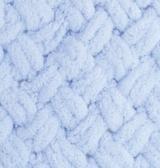 турецкая пряжа Alize puffy (Ализе Пуффи) купить в Минске и по всей Беларуси. Цвет 183 - светло-голубой