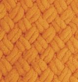 турецкая пряжа Alize puffy (Ализе Пуффи) купить в Минске и по всей Беларуси. Цвет 336 - оранжевый