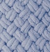 турецкая пряжа Alize puffy (Ализе Пуффи) купить в Минске и по всей Беларуси. Цвет 374 - голубой