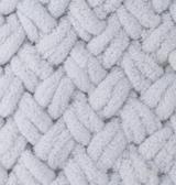 турецкая пряжа Alize puffy (Ализе Пуффи) купить в Минске и по всей Беларуси. Цвет 416 - серый