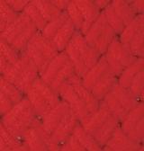 турецкая пряжа Alize puffy (Ализе Пуффи) купить в Минске и по всей Беларуси. Цвет 56 - красный