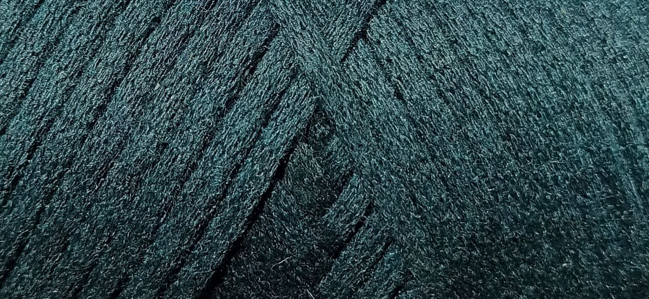 Maccaroni Cotton Filled 3 mm ( Маккарони Котон Фильд 3 мм) 35 - морская волна