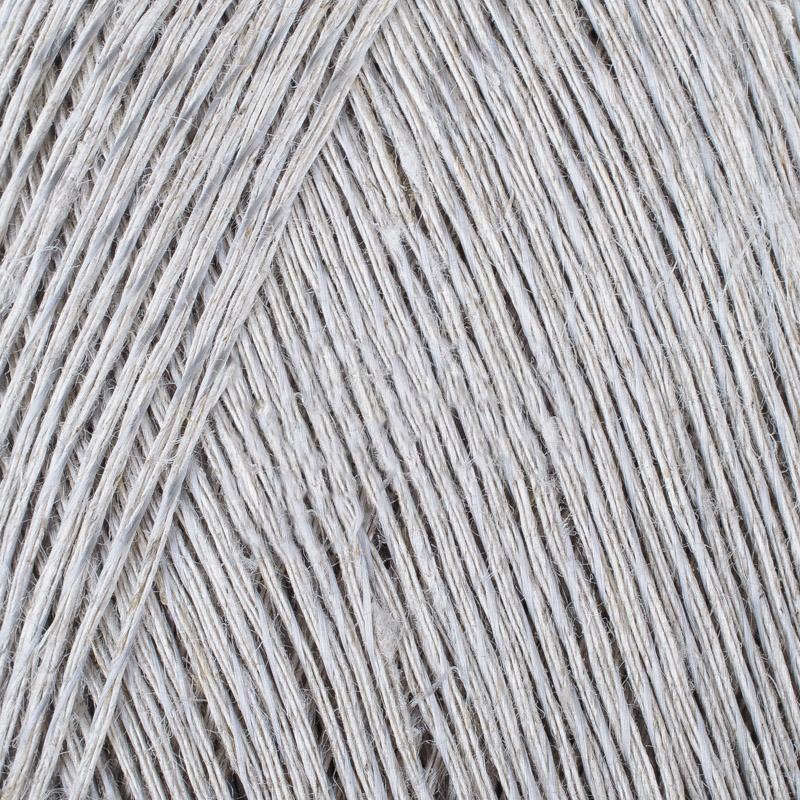 Блестящий лен 371 - натуральный серый купить со скидкой в Минске