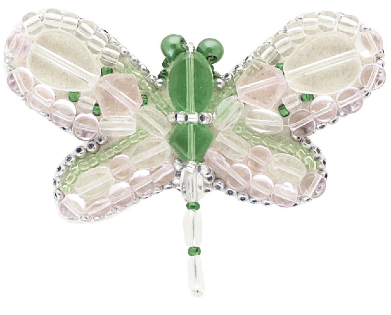БП-178 Набор для изготовления броши Crystal Art Теплое лето купить брошь