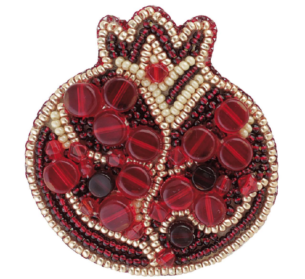 БП-183 Набор для изготовления броши Crystal Art Гранат купить в Беларуси