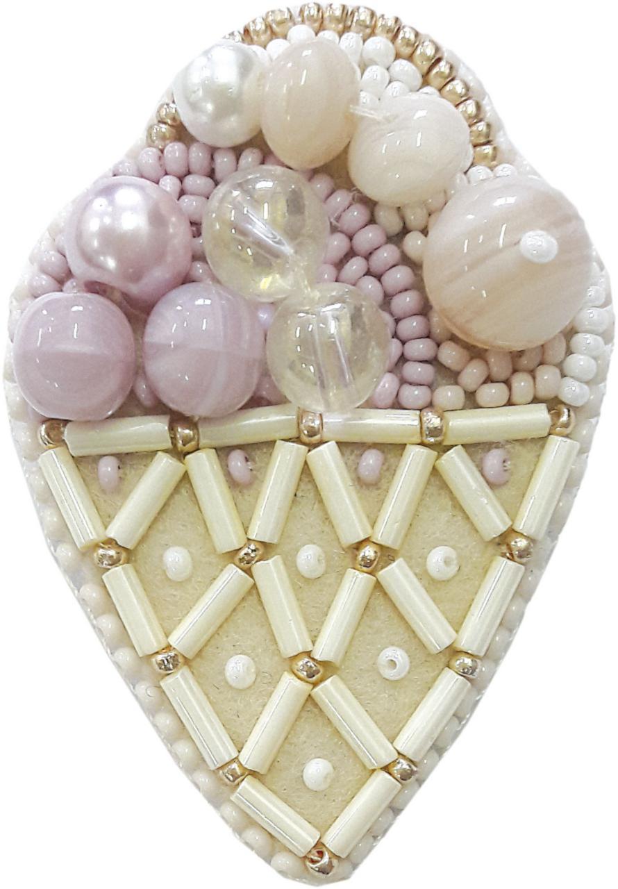 БП-189 Набор для изготовления броши Crystal Art  Десерт купить брошь со скидкой
