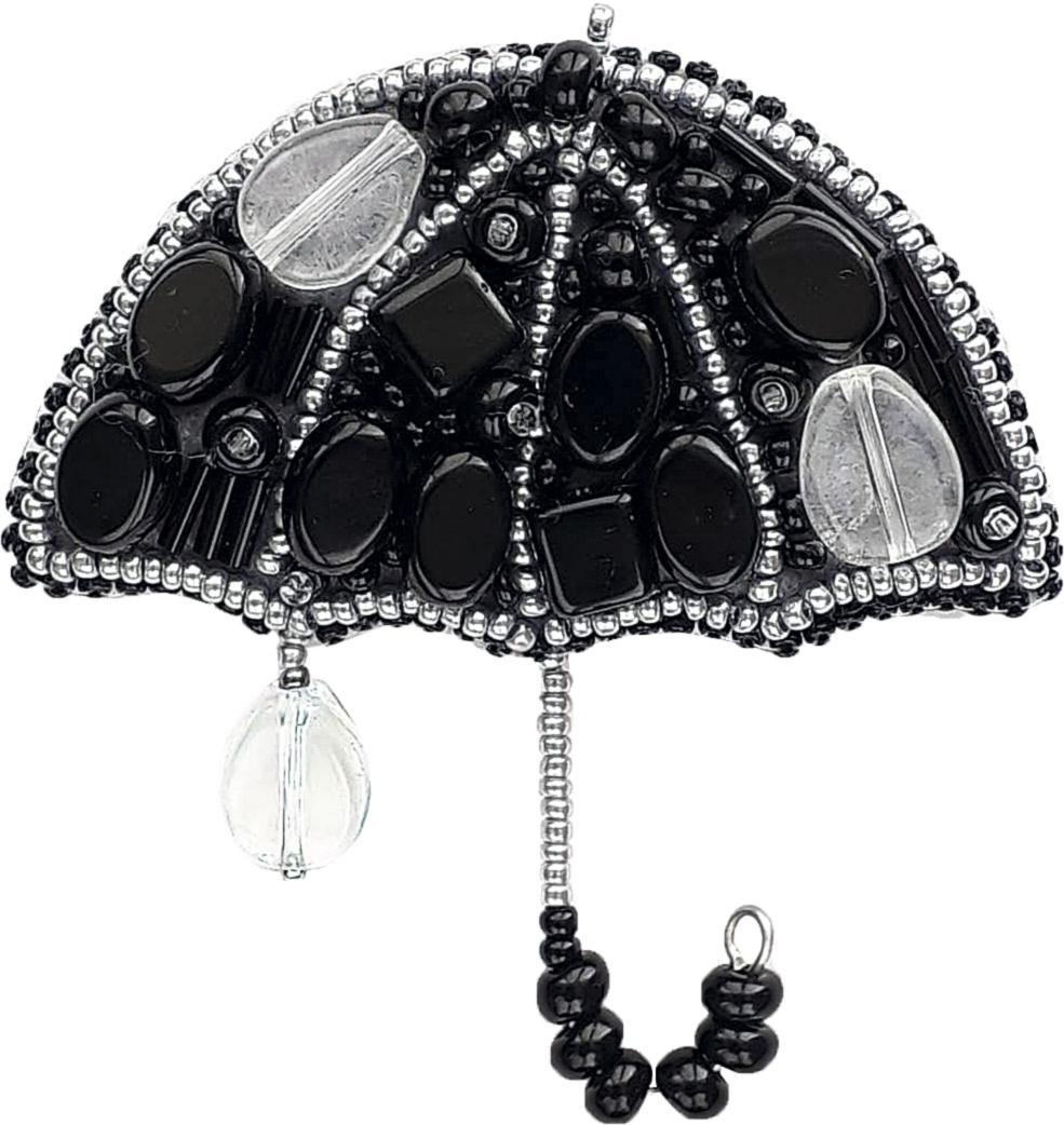 БП-203 Набор для изготовления брошие Crystal Art Вечерний дождик купить в Минскек