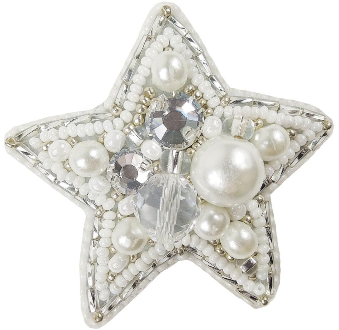 БП-219 Набор для изготовления броши Crystal Art Звезда купить брошь в Минске